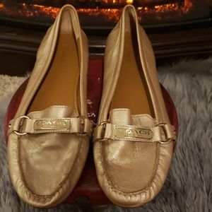 Coach Leather Loafers